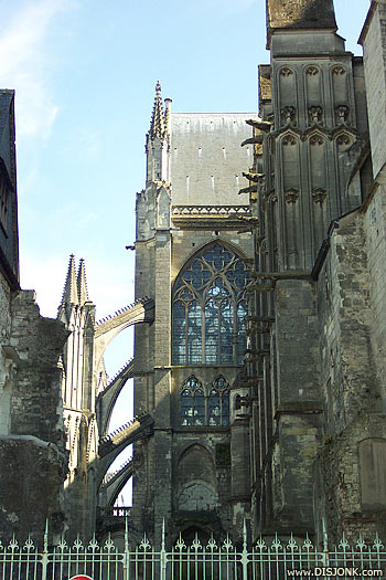Cathedral in tours in France