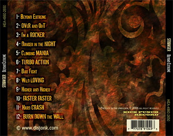 Cd tray layout designed by Montreal freelance graphic artist Syl Disjonk.