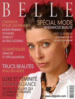 Fashion magazine cover design - Graphic design Montreal