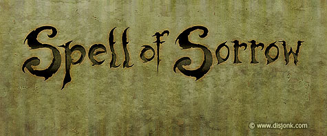 Logo design for the progressive doom music band from Quebec Spell of Sorrow