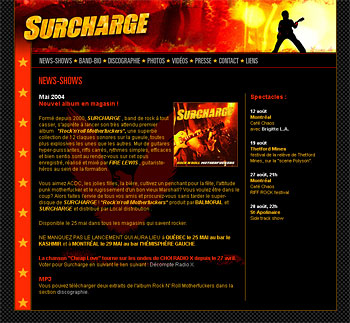 Surcharge Rock and Roll