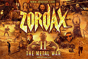 Zordax II The Metal War post apocalyptic short film